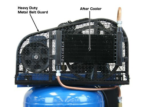 Air Compressor Cooler : Atlas air force af plus two stage single phase