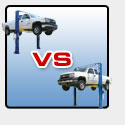 Which Model 9,000 LB. Two Post Lift Should I Buy?